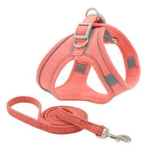 Open image in slideshow, Reflective Pet Leash and Harness