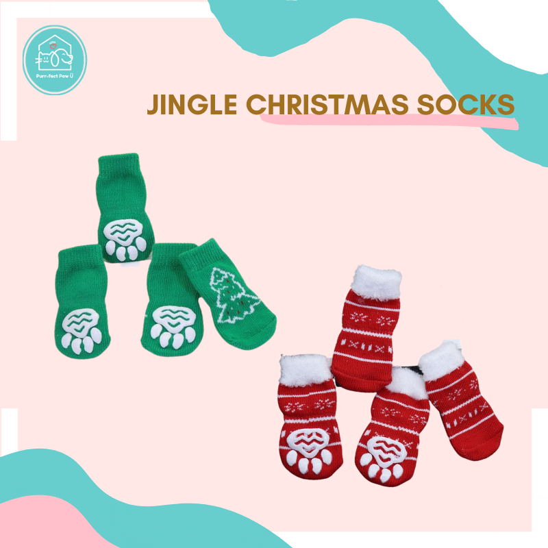 Jingle Christmas Socks