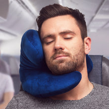 Load image into Gallery viewer, J-pillow travel pillow - Blue