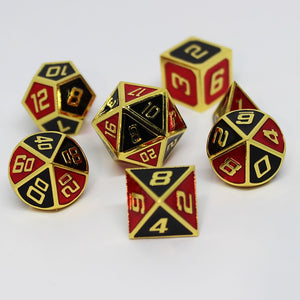 Joker Metal Dice Set
