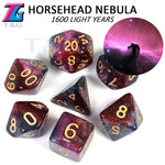 Load image into Gallery viewer, 56pcs Universe Galaxy DND Dice (With Box)