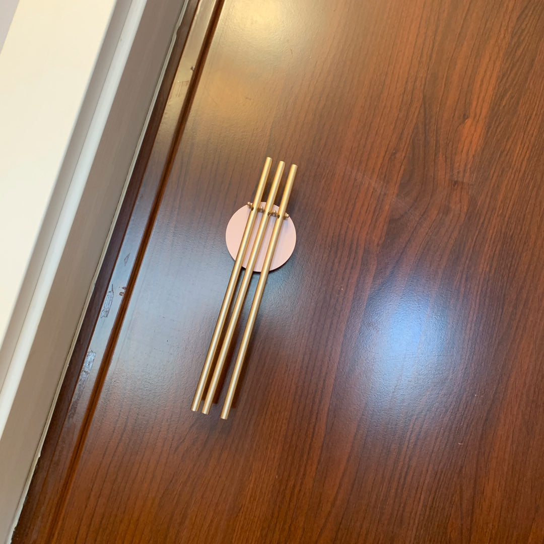 11PM - MODERN BRASS TUBES DOOR CHIMES