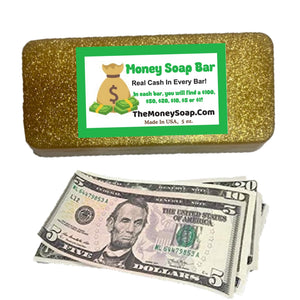 The Golden Billionaire Bath Bar Up To $100 In Each Bar Of Money Soap Made With Gold Mica Powder As Seen On Tik Tok