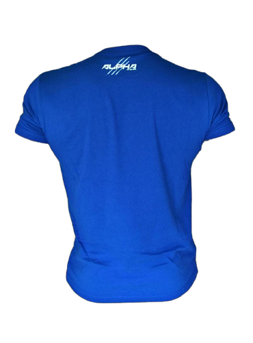 "Men's ""Natural Born Alpha"" T-Shirt (Royal Blue)"