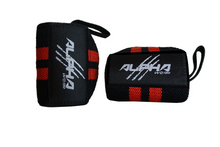 Alpha Wear Wrist Wraps- Red/Black