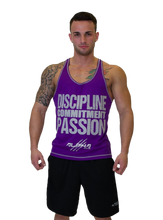 "Men's ""DCP"" Stringer (Purple-Silver)"