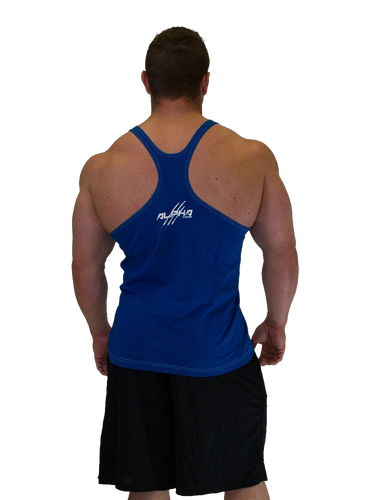 "Men's ""Alpha"" Stringer (Blue - White)"