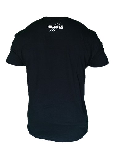 "Men's ""Natural Born Alpha"" T-Shirt (Black)"