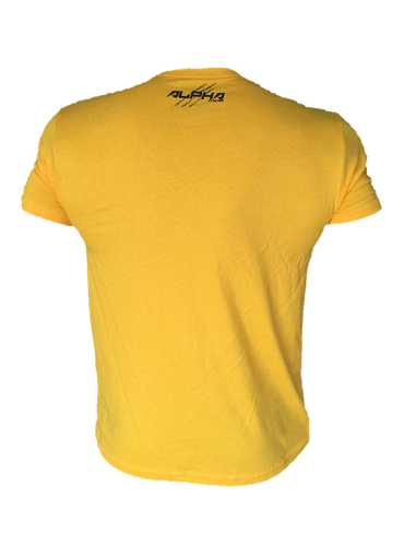 "Men's ""Natural Born Alpha"" T-Shirt (Gold Dust)"