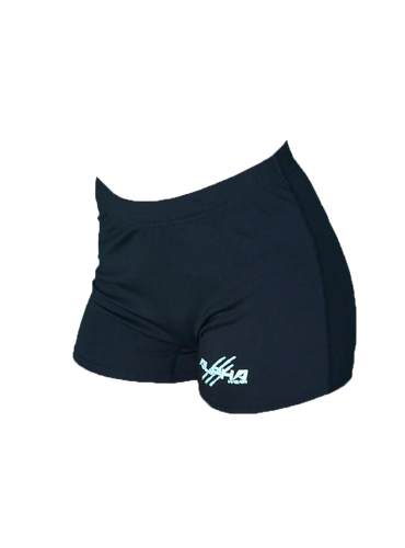 Women's Black Fitness Shorts