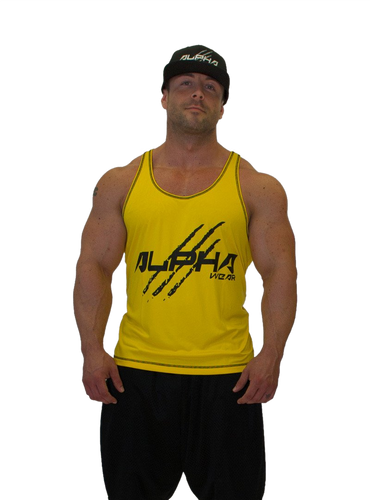 "Men's ""Alpha"" Stringer (Yellow - Black)"