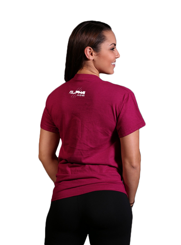 "Women's ""Alpha"" T-Shirt (Maroon)"