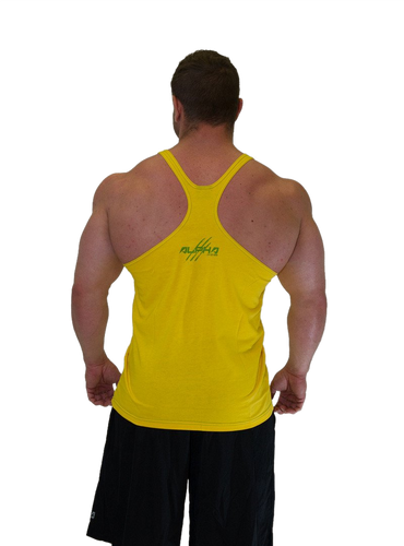 "Men's ""Alpha"" Stringer (Yellow - Green)"