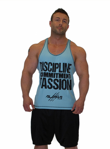 "Men's ""DCP"" Stringer (Light Blue - Black)"