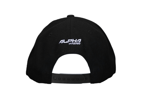 "Snap Back ""Alpha"" Hat (Black)"