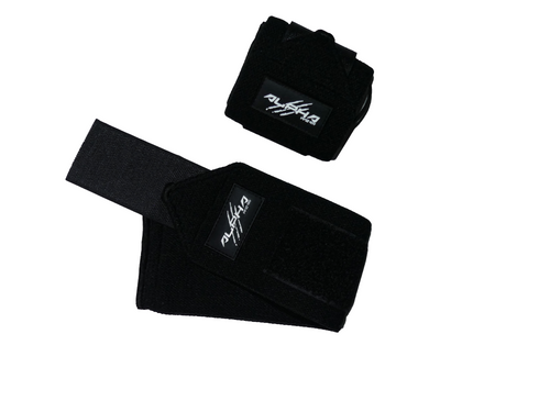 Alpha Wear Wrist Wraps- Black