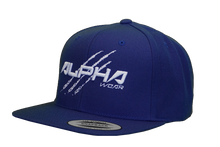 "Snap Back ""Alpha"" Hat (Royal Blue)"