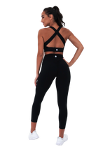High Waisted Leggings (Black)