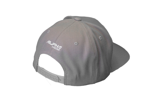 "Snap Back ""Alpha"" Hat (Grey)"