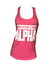 "Women's ""Natural Born Alpha"" Tank (Pink)"