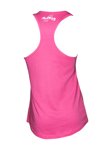 "Women's ""Alpha"" Tank (Hot Pink)"