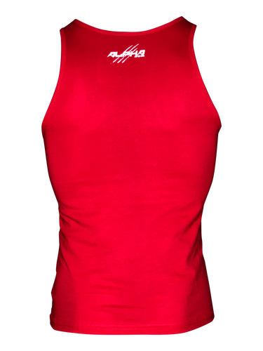 "Men's ""Alpha"" Tank (Red)"
