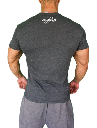 "Men's ""Alpha""  T-Shirt (Charcoal)"