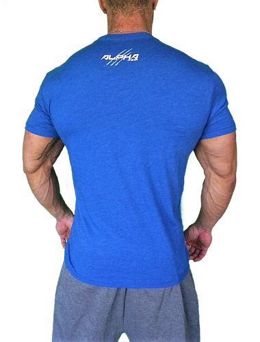 "Men's ""Alpha"" T-Shirt (Royal Blue)"
