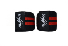 Alpha Wear Knee Wraps- Red/Black