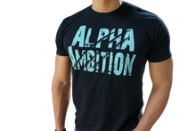 "Men's ""Alpha Ambition"" T-Shirt (Icy Blue)"