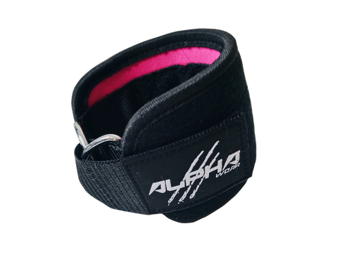 Alpha Wear Ankle Straps- Pink