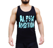 "Men's ""Alpha Ambition"" Tank (Icy Blue)"