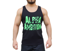 "Men's ""Alpha Ambition"" Tank (Neon Green)"