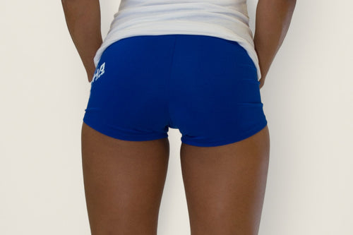 Women's Fitness Shorts Blue