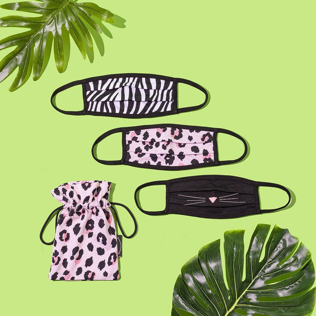 'Wild Side' Trio including Mask Pouch - The Three Maskateers