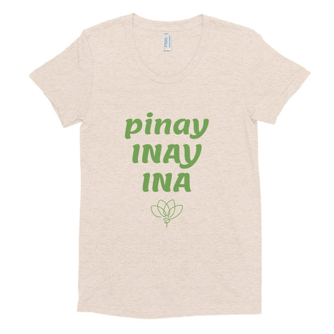 """pinay/INAY/INA"" (Mother Nature) Adult Tee"