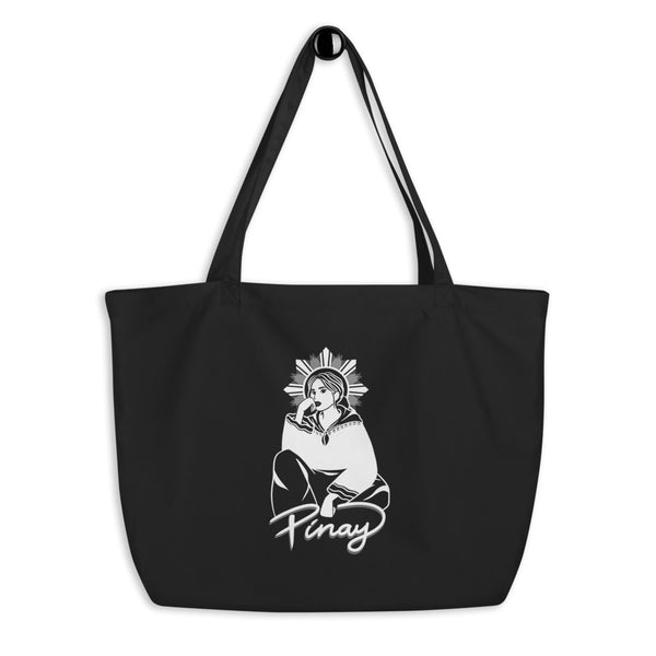 TIN TIN DESIGN Large Eco Tote Bag