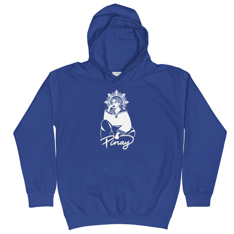 TIN TIN's DESIGN in WHITE - Kids Hoodie