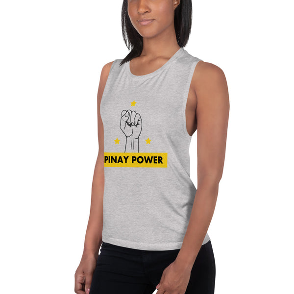 PINAY POWER Ladies' Muscle Tank