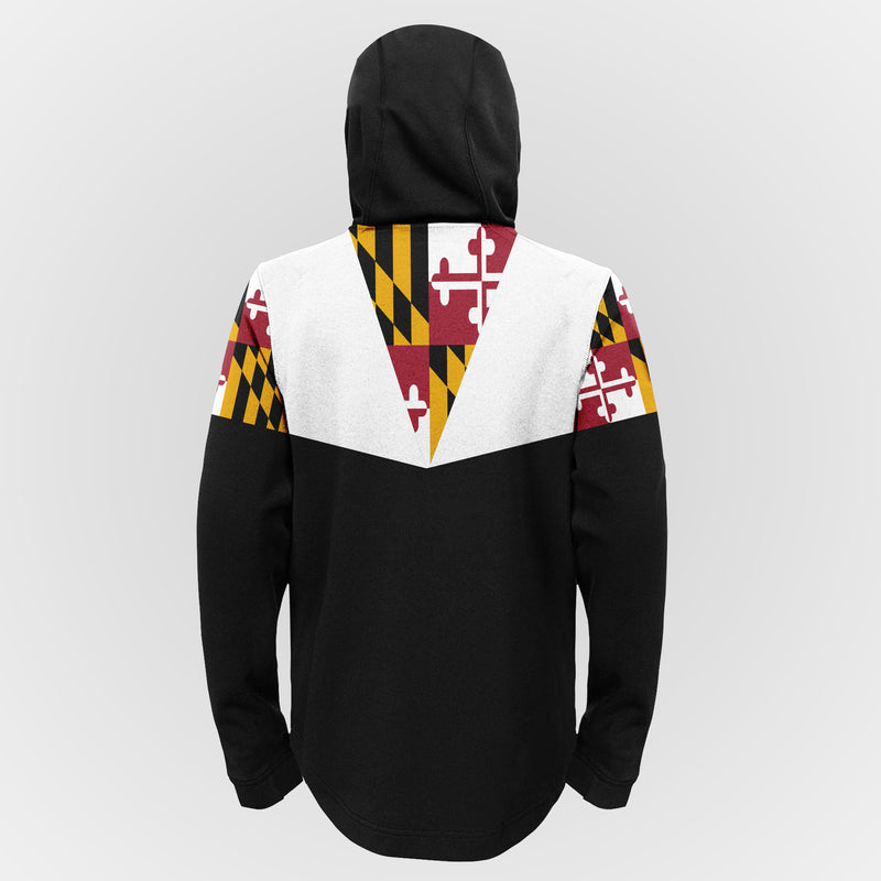 Owings Mills Football Youth Maryland Flag Full Zip Jacket