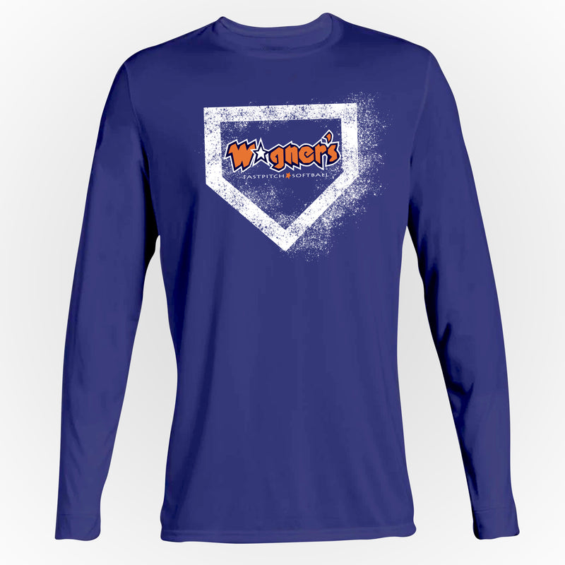 Wagner's Softball Diamond Long Sleeve Tee