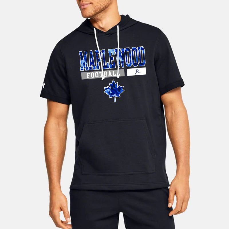Maplewood Essential Men's UA Sportstyle Stadium Short Sleeve Hoodie