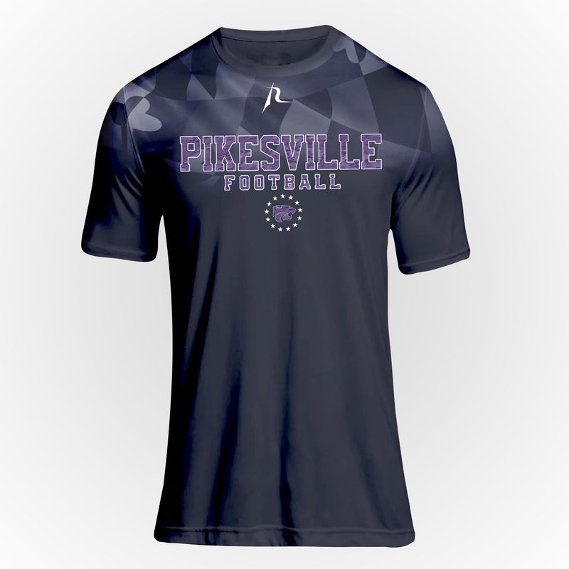 Pikesville Wildcats Youth Maryland Flag Short Sleeve Tee