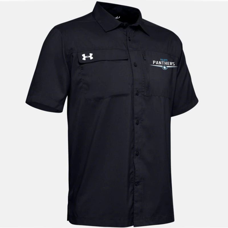 Pallotti Panthers UA Men's UA Motivator Coach's Button Up Shirt