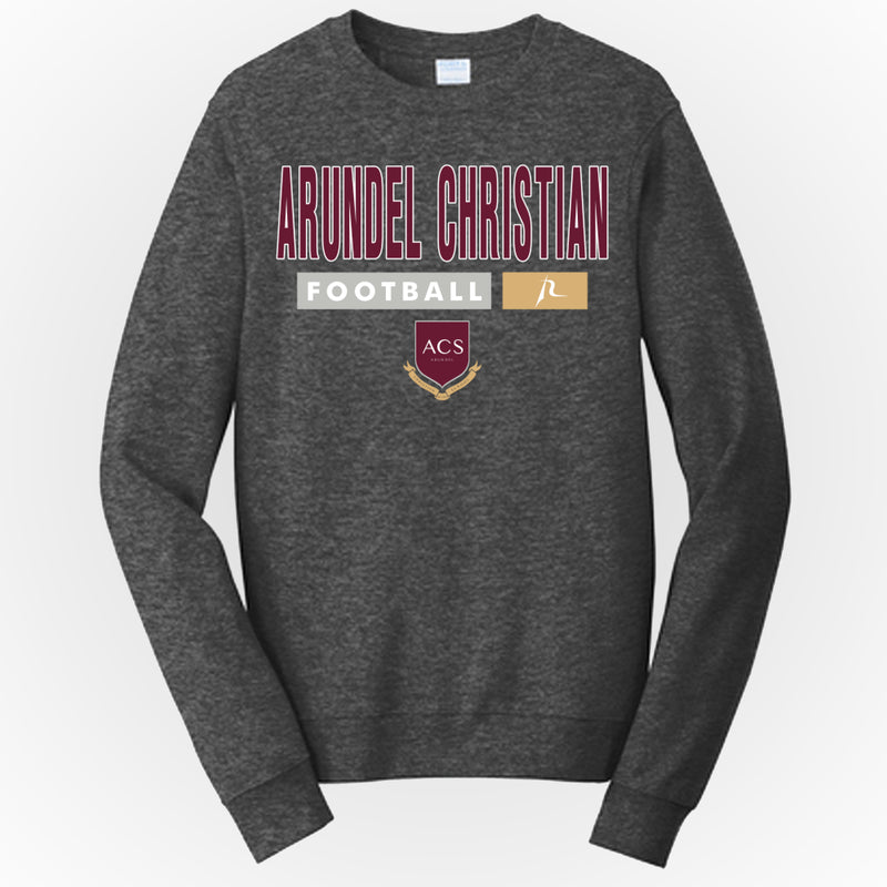 ACHS Football Essential Men's Crewneck Sweatshirt