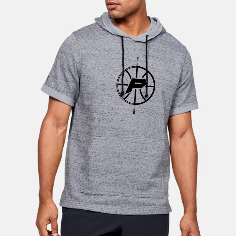 Court Prowess Essential UA Stadium Short Sleeve Hoodie