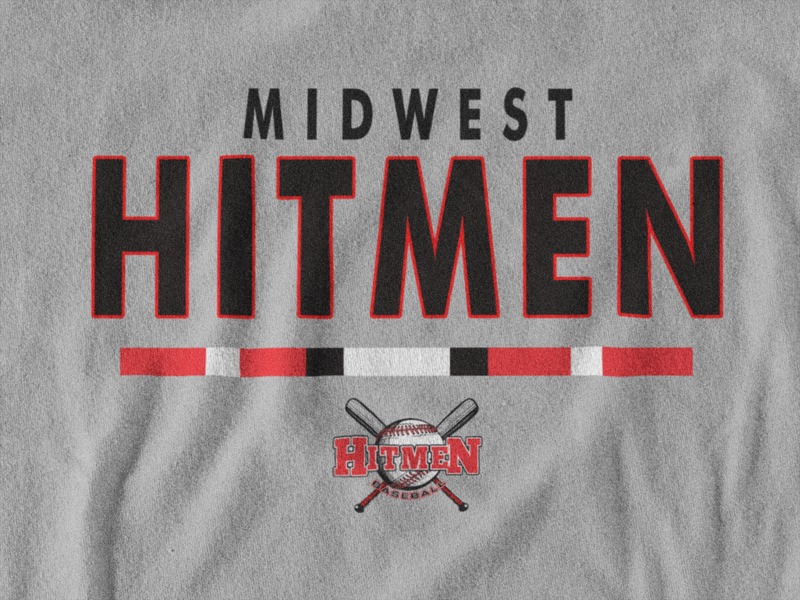 Midwest Hitmen Essential Women's V-Neck Tee