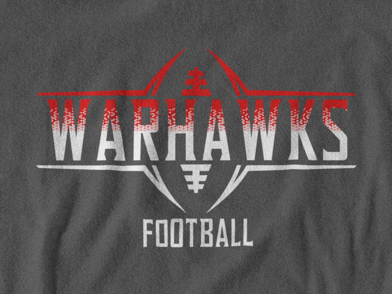 West Howard Warhawks Football Tee