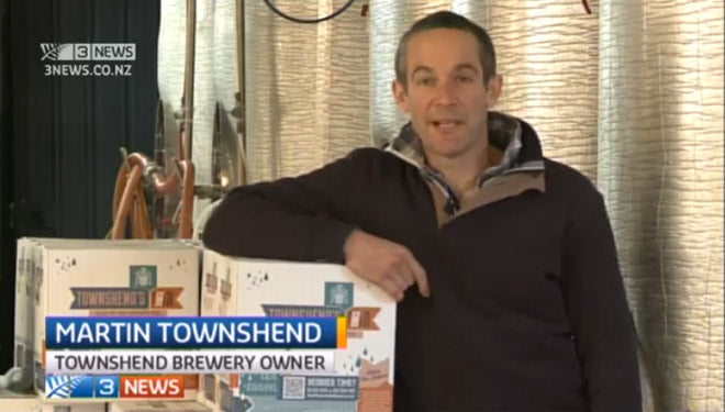 Martin Townshend interview after winning BGNZ Champion Brewery