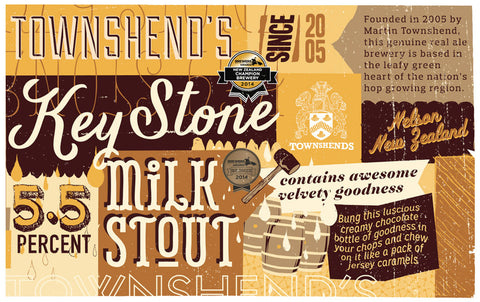 Keystone Milk Stout